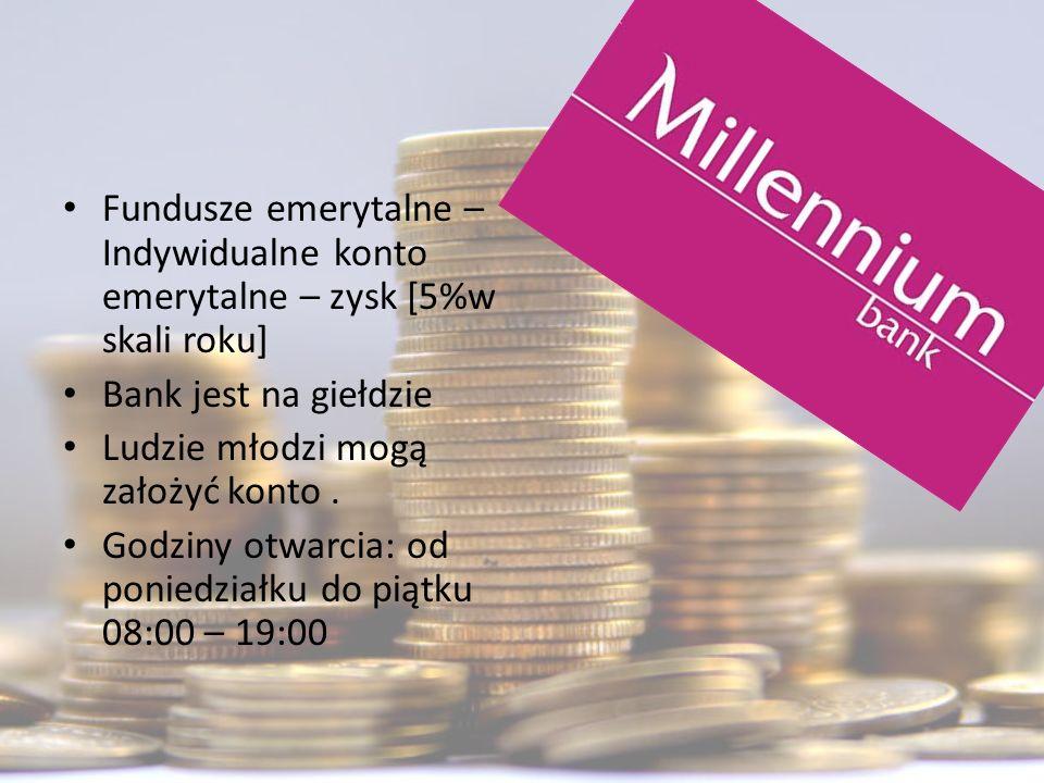Fundusze emerytalne – Indywidualne konto emerytalne – zysk [5%w skali roku]